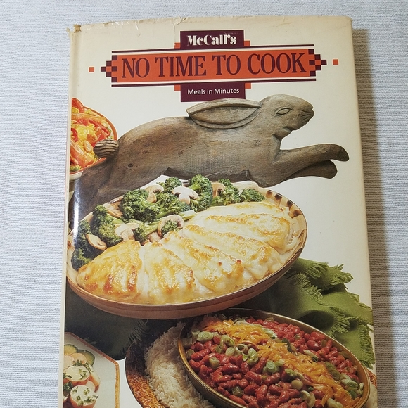 """1985 McCall's """"No Time to Cook"""""""